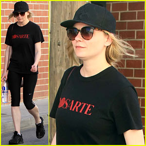 Kirsten Dunst is All About Rodarte at the Gym