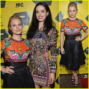 Kristen Bell & Krysten Ritter Make It a Colorful Premiere for 'Veronica Mars' at SXSW!