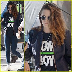 Kristen Stewart Is a Tom Boy, But Isn't Endorsing Nike!