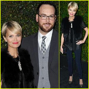 Kristin Chenoweth & Dana Brunetti: Chanel & Charles Finch Pre-Oscars Dinner Duo