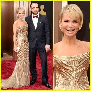 Kristin Chenoweth - Oscars 2014 with Boyfriend Dana Brunetti