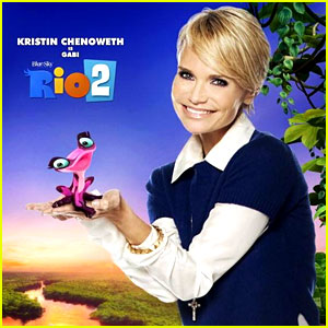 Kristin Chenoweth's Operatic Aria from 'Rio 2' Will Make Your Week Better!