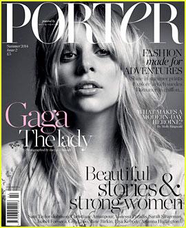 Lady Gaga Goes Makeup Free & Still Looks Amazing on 'Porter Magazine' Cover!