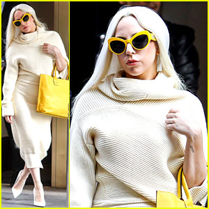 Lady Gaga Embraces a Simple Yet Chic Look in New York City