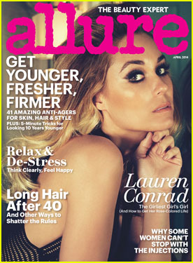 Lauren Conrad Talks Sex in 'Allure'!