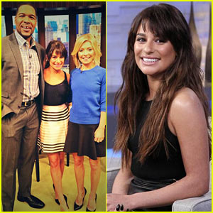 Lea Michele Sings 'Battlefield,' Talks Wanting to Return to Broadway on 'GMA'!