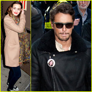 Leighton Meester & James Franco Cause a 'Fever Pitch' at 'Of Mice & Men'!