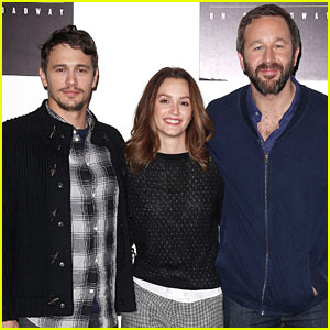 Leighton Meester & James Franco: 'Of Mice & Men' Broadway Press Conference!