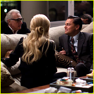 Leonardo DiCaprio Gets Direction in Behind the Scenes Photos from 'Wolf of Wall Street' (Exclusive)