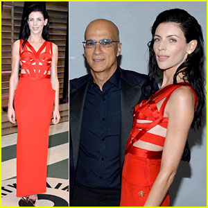 Liberty Ross: Vanity Fair Oscars Party with Boyfriend Jimmy Iovine!