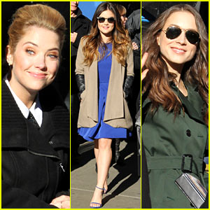 Lucy Hale & Ashley Benson Promote 'Pretty Little Liars' Finale on 'GMA': Lots of Questions Will Be Answered!