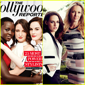 Lupita Nyong'o Hugs Stylist Micaela Erlanger for THR's Top Stylists Issue, Kristen Stewart & More Featured!