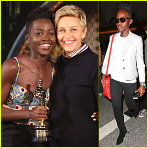Lupita Nyong'o Jokes That Brother Peter Upstaged Her at Oscars 2014!