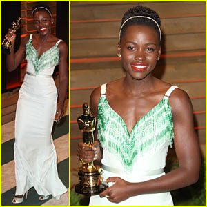 Lupita Nyong'o: Dress Switch for Vanity Fair Oscars Party 2014