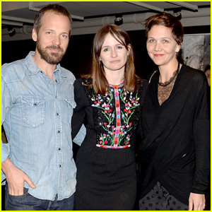 Maggie Gyllenhaal & Peter Sarsgaard Support Emily Mortimer at 'Doll & Em' Screening After Party!