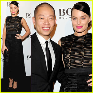 Margot Robbie Helps Jason Wu Celebrate His 'Big Night' for Hugo Boss!