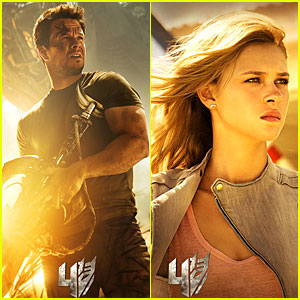 Mark Wahlberg & Nicola Peltz: New 'Transformers 4' Posters & Trailer - Watch Now!