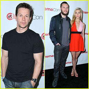 Mark Wahlberg & Nicola Peltz Bring 'Transformers 4' to Sin City's CinemaCon!