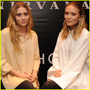 Mary-Kate & Ashley Olsen Celebrate Their New Elizabeth and James Fragrances!