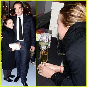 Mary Kate Olsen Olivier Sarkozy First Post Engagement Earance