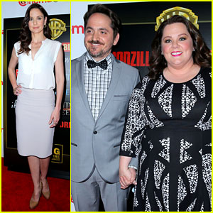 Melissa McCarthy Brings 'Tammy' to CinemaCon with Her Hubby Ben Falcone!