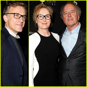Meryl Streep & Christoph Waltz: Pre-Oscars Party Attendees!