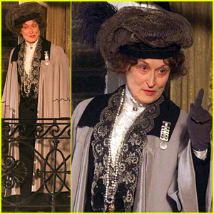Meryl Streep: First Look Pictures On 'Suffragette' Set!