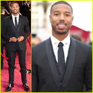 Michael B. Jordan - Oscars 2014 Red Carpet