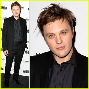 Michael Pitt Robs the Mob at New York City Premiere
