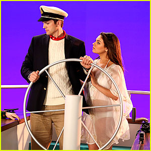 Mila Kunis & Ashton Kutcher Reunite On Screen - New 'Two & a Half Men' Stills Here!