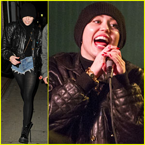 Miley Cyrus Performs Sir Mix-A-Lot's 'Baby Got Back' at Karaoke Bar - Watch Now!