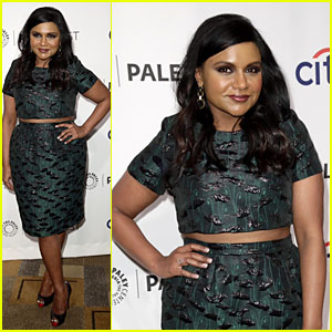 Mindy Kaling Bares Midriff for 'Mindy Project' PaleyFest Panel!
