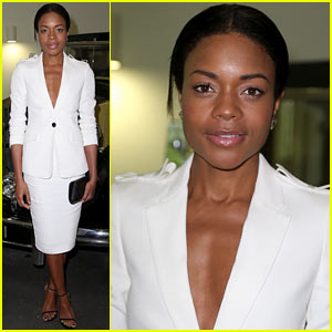 Naomie Harris Poses with Legendary James Bond Cars at Bond in Motion Exhibit!