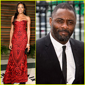 Naomie Harris Honors Mandela at Vanity Fair Oscars Party 2014