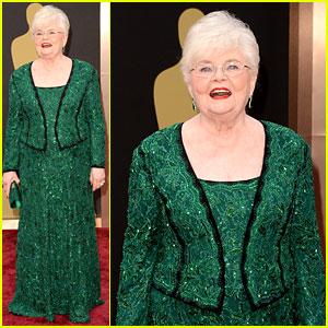Nebraska's June Squibb - Oscars 2014 Red Carpet