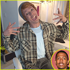 Nick Cannon Sparks Controversy By Sporting Whiteface