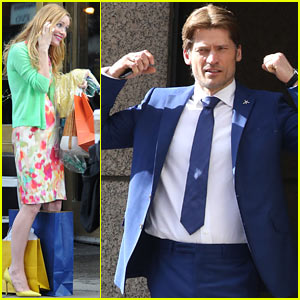 Nikolaj Coster-Waldau Flexes His Muscles for 'Other Woman' Re-Shoots