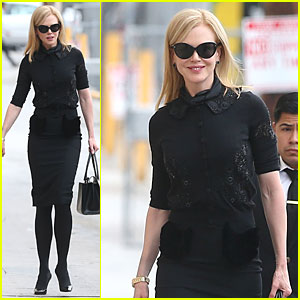 Nicole Kidman Is a Beautiful Blackout at 'Jimmy Kimmel Live'!