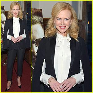 Nicole Kidman Rocks Cape at 'The Railway Man' Screening!