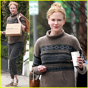 Nicole Kidman Runs Errands Around Town Before the Oscars!