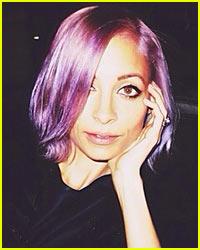 Nicole Richie's Purple Hair Color Choice Explained!