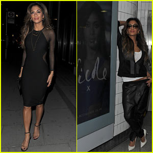 Nicole Scherzinger Promotes New Missguided Clothing Collection, Poses Next to Subway Ads!