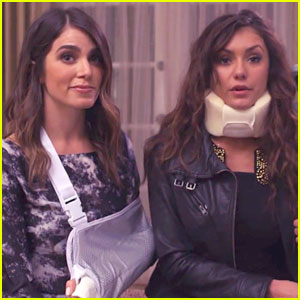 Nina Dobrev & Nikki Reed Want You to Get Covered - Watch Their PSA Here!