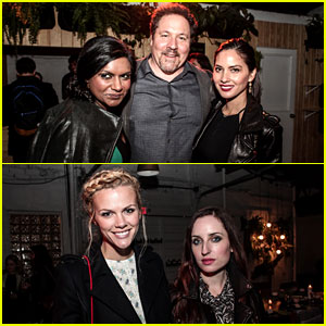 Mindy Kaling Gets Honored at 'Marie Claire' SXSW Dinner!