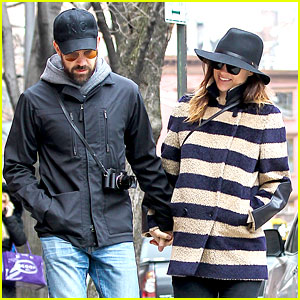 Olivia Wilde Celebrates 30th Birthday with Fiance Jason Sudeikis
