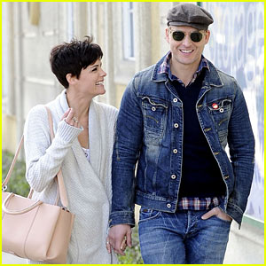 Peter Facinelli & Jaimie Alexander Hold Hands & Look Lovey Dovey Together!