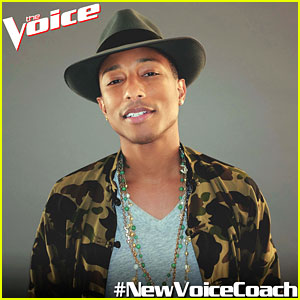 Pharrell Williams Joins 'The Voice' as Season 7 Coach!