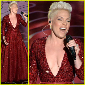 Pink Sings 'Over the Rainbow' for 'Wizard of Oz' Tribute at Oscars 2014 - Watch Now!
