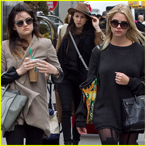 'Pretty Little Liars' Cast Leaves New York City After Big Season Four Finale!