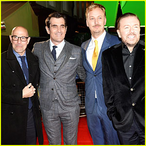 Ricky Gervais & Ty Burrell Look Like VIP Men at 'Muppets' London Screening!